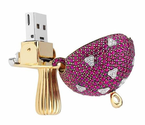 World's Most Expensive USB With Diamonds 3