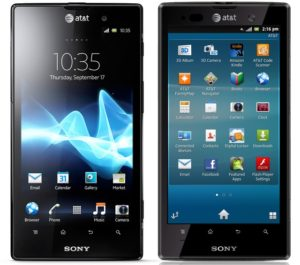Sony Xperia Ion Run Android 4.0 1