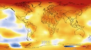 The Change in Temperature of the Earth from 1880 Until Today (Video) 1