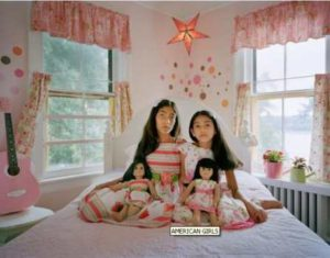 Photographic Project: American Girls Shows Their Dolls 1