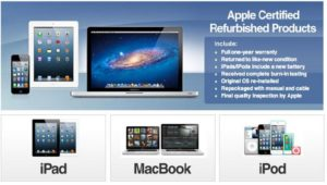 Apple Refurbished Products