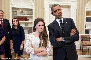 President Obama Created the Shocking Expression in the White House 4