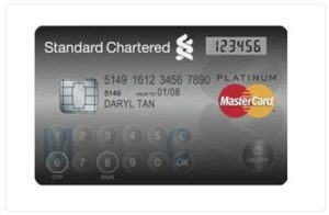 Credit Card with LCD Display and Touch Keypad 1