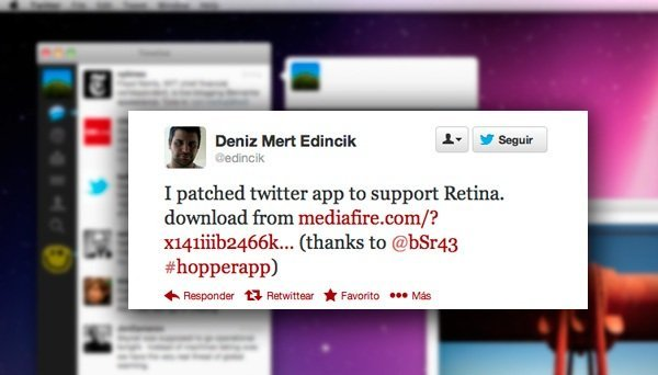 Official Twitter Client with Support for Retina Displays, Although not Officially 8