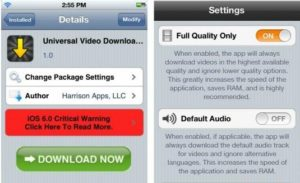 The New plug-in Allows the User to Extract the Video in iOS Applications 7