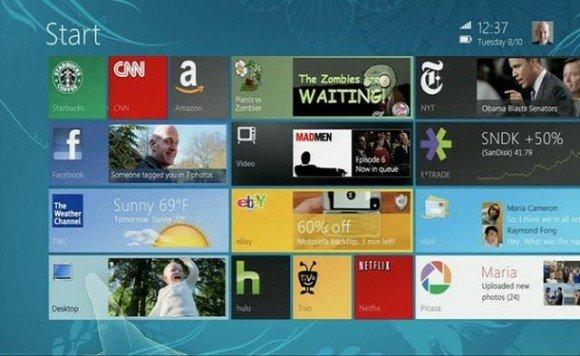 The Slow Adoption of Windows 8 7