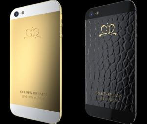 New Covers for iPhone 5 are Made with 24 Carat Gold and Alligator Skin 1