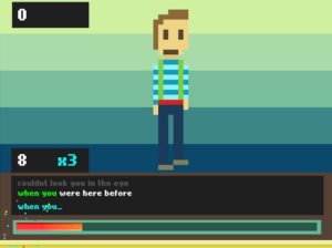 Karaoke Online Typing Speed Test in Game 1