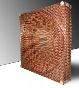 Metamaterial Combines Radio Waves 1