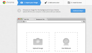 Create Your Own theme for Google Chrome 1