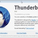 Thunderbird 17 and Extended Support Release 3