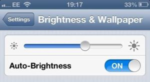 Automatic-Brightness-iOS 6