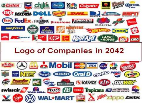 Logo of the Famous Companies in 2042 3