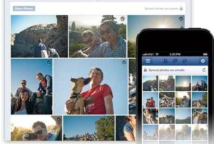 Facebook Officially Launched Phone Photos Automatically Upload Function 1