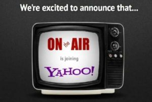 OnTheAir,Acquires,Yahoo