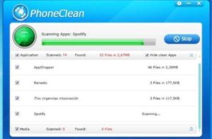 Free Space on your iPad without Jailbreak, Thanks to PhoneClean 1