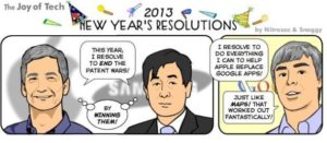 What are the Resolutions of IT Companies for 2013 ? [Cartoon] 1