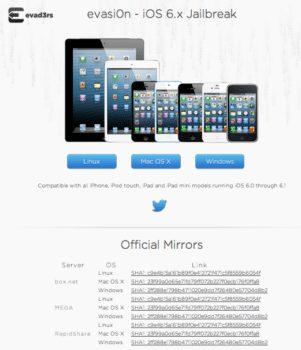 Evasi0n Released iOS 6 Jailbreak