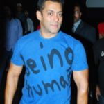 Salman's T-shirts With Handpick Drawings of ''Being Human'' 2
