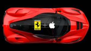 Ferrari is in Talk With Apple for Increase in Collaboration 1