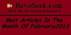 Best Articles on RevoSeek.com in February 2013 1