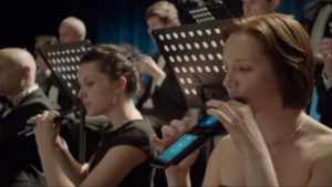 Prototype Performance of 'Carmen' by Orchestra with Mobile Phones and Tablets [Video] 1