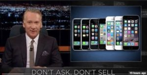 bill Maher iPhone 7 Comments